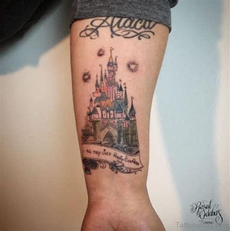 innovative castle wrist tattoos