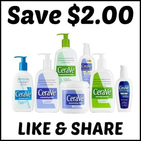 cerave coupon save 2 00 canadian freebies coupons sweepstakes deals