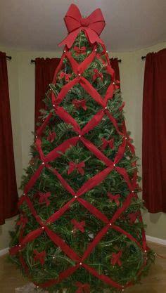 youtube tutorial  crisscross ribbons  christmas tree