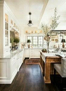 48, Inspiring, Traditional, Farmhouse, Kitchen, Decoration, Ideas
