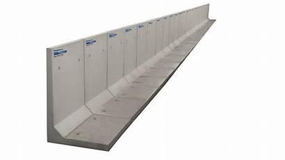 Retaining Wall System Precast Systems Concrete
