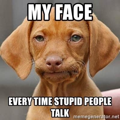 Unamused Meme - unamused puppy meme generator