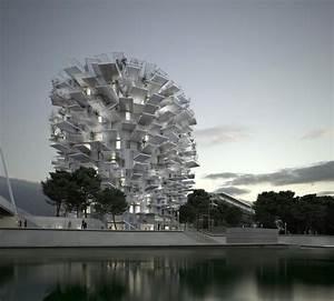 Agence Architecture Montpellier : l 39 arbre blanc immeuble design montpellier architecte sou fujimoto ~ Melissatoandfro.com Idées de Décoration