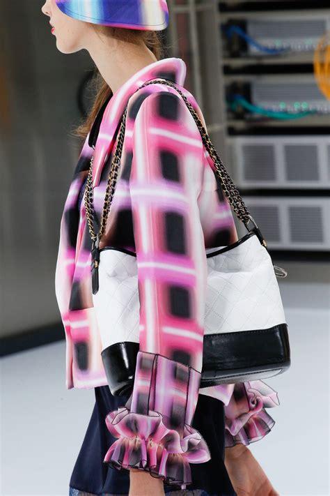 chanel springsummer  runway bag collection spotted