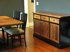 Walnut and Maple Dining Set - Canadian Wood Design