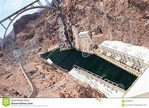 Hoover Dam Hydroelectric Power Plant Stock Photo - Image ...