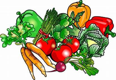 Garden Clipart Clip Vegetable Border Vegetables Borders