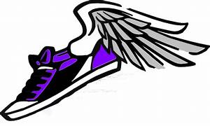 Running Shoes With Wings Clipart | Clipart Panda - Free ...