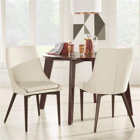 white linen dining chairs homesullivan nobleton white linen dining chair set of 2 1432