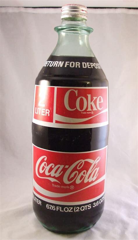 patio diet cola bottle value vintage 1970 coke coca cola 2 liter glass acl new bottle