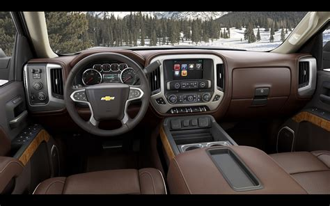 chevrolet silverado high country interior   wallpaper