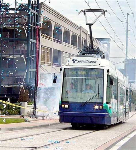 tacoma light rail tacoma streetcar brings modern electric rail transit to
