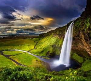 Seljalandsfoss Waterfall Iceland