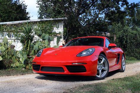 2017 Porsche 718 Cayman And Cayman S Review