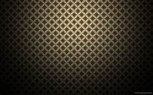 Gold pattern wallpaper