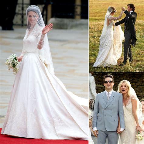celebrity designer wedding dresses