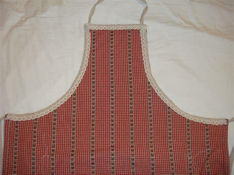 tablier de cuisine couture tablier de cuisine à dentelle la ménagerie de