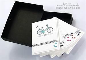 Life U2019s Adventure Stampin U2019 Up  Hostess Notecards Box Tutorial