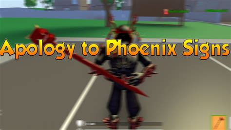 apology  phoenix signs owner  strucid youtube