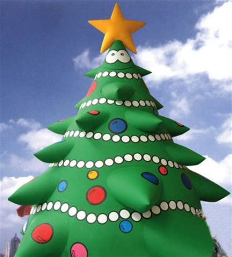 yolloy blow  outdoor inflatable christmas tree  sale