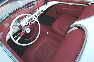 Car Feature  Low Mileage 1954 Corvette Roadster
