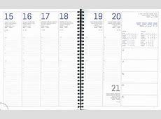 agenda settimanale 17x24 ad anelli