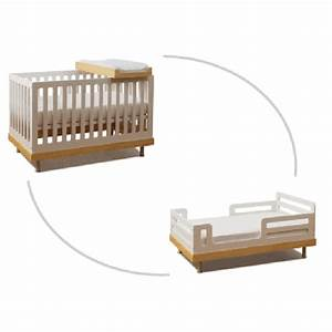 Lit Bébé Écologique : lit bebe bio evolutif visuel 7 ~ Carolinahurricanesstore.com Idées de Décoration