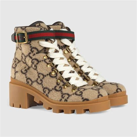 gucci gg wool ankle boot boots sneakers fashion