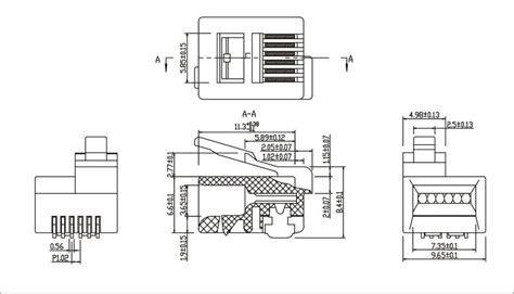 rj11 rj12 6p6c 6p4c modular kls brand12 rj12c 6p buy 6p4c modular 6p6c modular