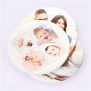 Topflappen Foto Bedrucken : runde untersetzer mit eigenem foto bedrucken ~ Lizthompson.info Haus und Dekorationen