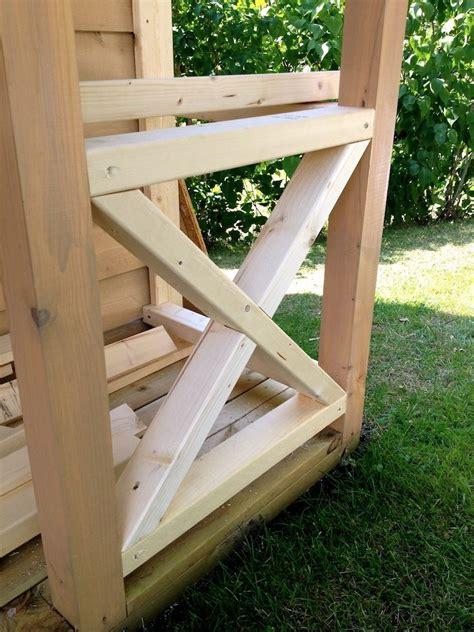 nice   cross buck porch railing deck