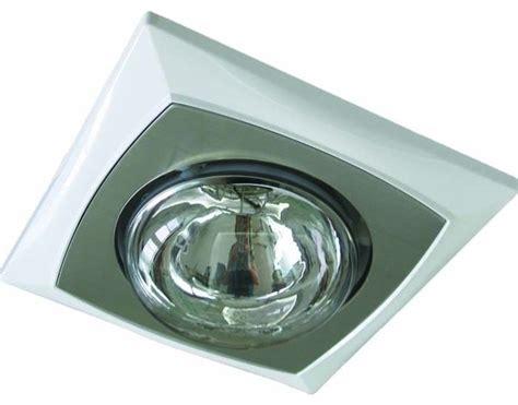L2u105 Single Heat Lamp  Contemporary Bathroom