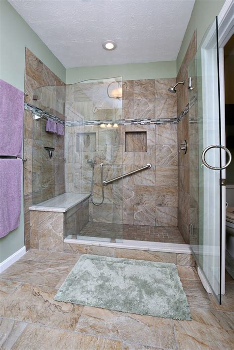 seamless shower doors  master bathroom remodel savvy