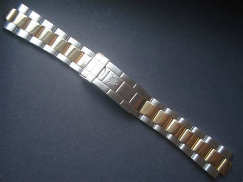 20mm Gold Alloy Plated 2-tone Vintage 16613 Submariner ...