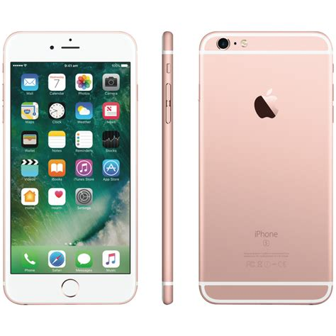 apple iphone 6s plus apple mkug2x a iphone 6s plus 128gb gold at the