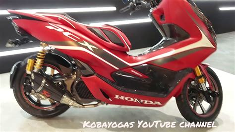 Pcx 2018 Aksesoris by Modifikasi All New Honda Pcx 150 2018 Indonesia Custom