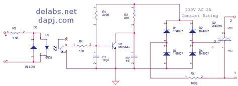 Triac Scr Thyristor Delabs Schematics Electronic Circuits