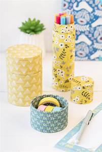 Upcycling Ideen Papier : diy upcycling aufbewahrung aus papierrollen f rs b ro leelah loves ~ Eleganceandgraceweddings.com Haus und Dekorationen