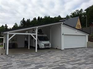 Garage Mit Pultdach : garage carport kombination carport scherzer ~ Orissabook.com Haus und Dekorationen