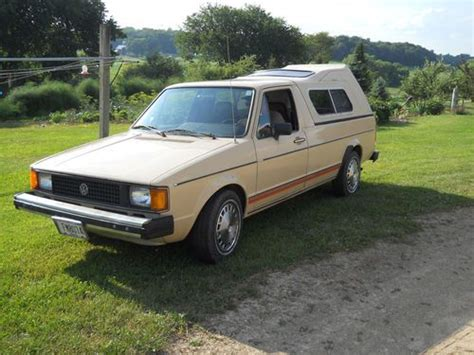 Sell Used 1982 Vw Rabbit Diesel Pick-up In Loganville