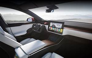 2021 Tesla Model S (facelift) with entirely new interior unveiled