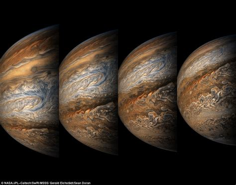 Juno Spacecraft Captures Stunning New Look At Jupiter
