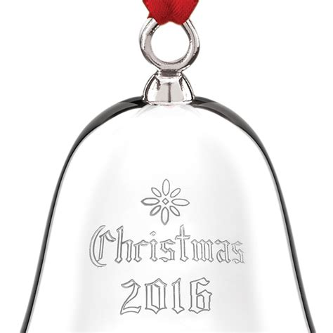 2016 bells on christmas christmas bell 2016 reed and barton christmas ornament christmas bells