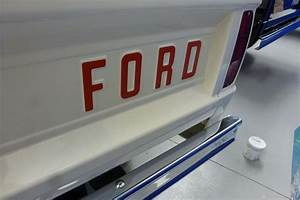 ford bronco tailgate letters With tailgate letters