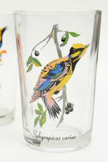 vintage kig malaysia drinking glasses tumblers  exotic