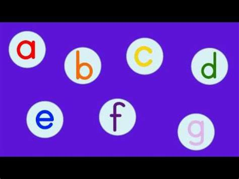 The Phonics Abc Song Youtube