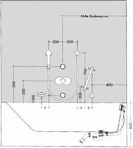 Mischbatterie Für Badewanne Mit Dusche : badewanne shkwissen haustechnikdialog ~ Markanthonyermac.com Haus und Dekorationen