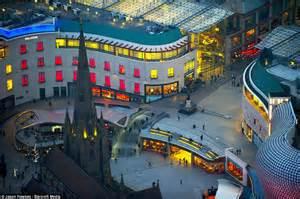 Aerial View of Birmingham at Night