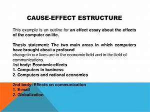 examples of cause and effect topics