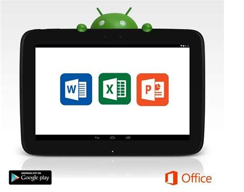 office android image microsoft office android tablet